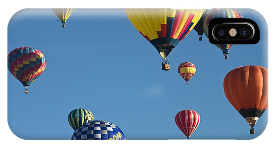 Albuquerque IPhone X Case featuring the photograph Balloons Galore by Susan See