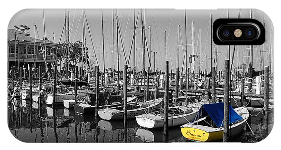Shrimp Boat IPhone X Case featuring the photograph Banana Boat by Michael Thomas