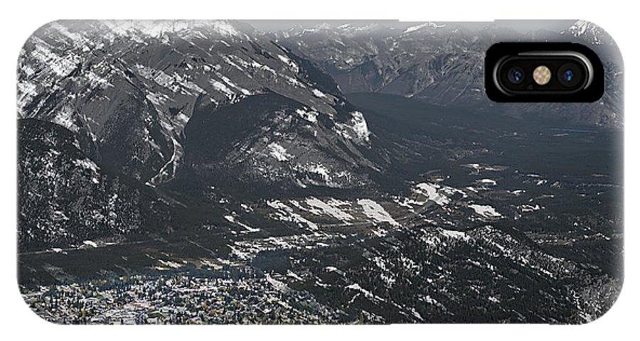 Banff IPhone X Case featuring the photograph Banff Alberta Canada by Daniel Hagerman