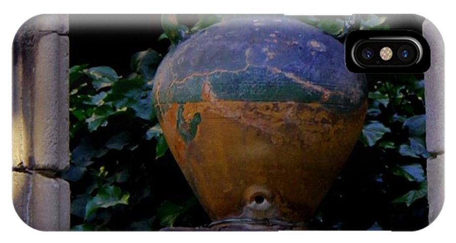 Barcelona Spain IPhone X Case featuring the photograph Barcelona Spain Vase by Joyce Allen