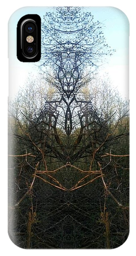 IPhone X / XS Case featuring the photograph Bardin by Jon Glynn
