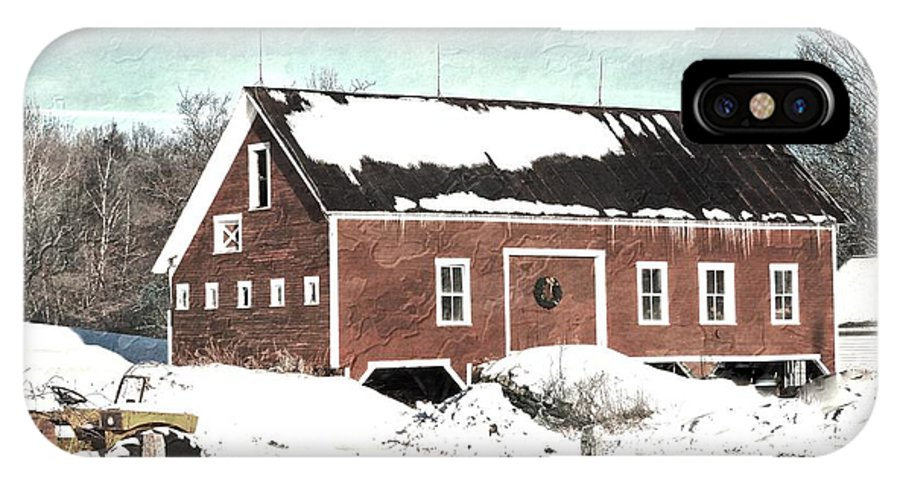 Marcia Lee Jones IPhone X Case featuring the photograph Barn # 8 by Marcia Lee Jones