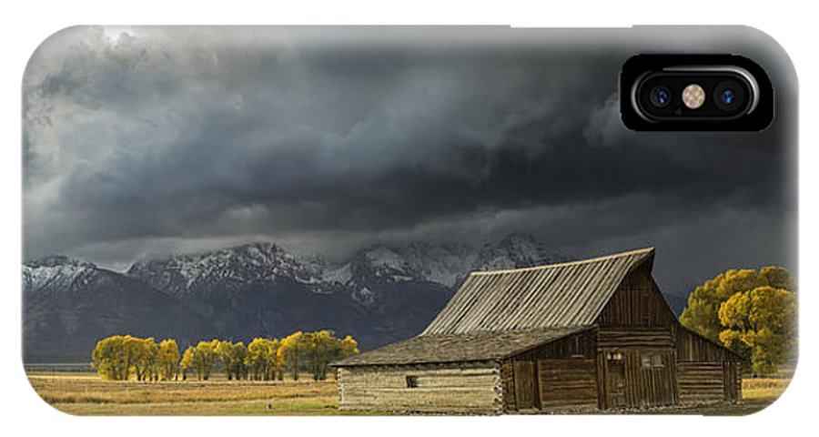 Moulton Barn IPhone X Case featuring the photograph Barnstormer by Jennifer Grover