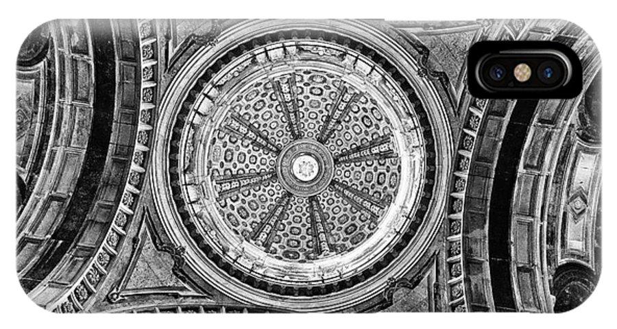 Lantern IPhone X Case featuring the photograph Baroque Church Cupola Dome by Jose Elias - Sofia Pereira