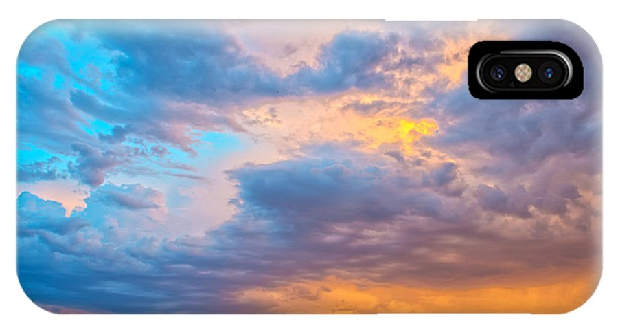 Sky IPhone X Case featuring the photograph Barossa Valley Sunset by Casey Grant