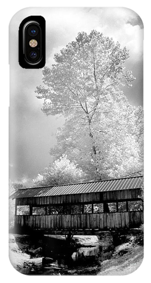 Infrared IPhone X Case featuring the photograph Bathed In Light by Paul W Faust - Impressions of Light