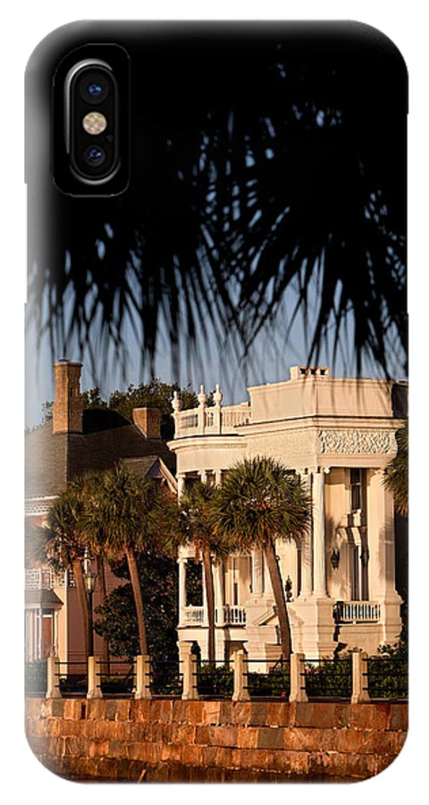 Charleston IPhone X Case featuring the photograph Battery by Mic Smith