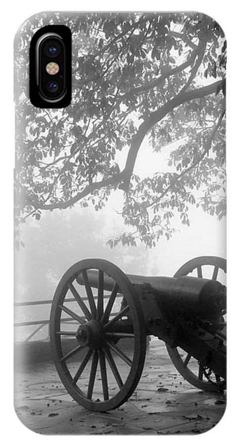 Civil War IPhone X / XS Case featuring the photograph Battle Above The Clouds Revisited by Cheryl Hardt Art