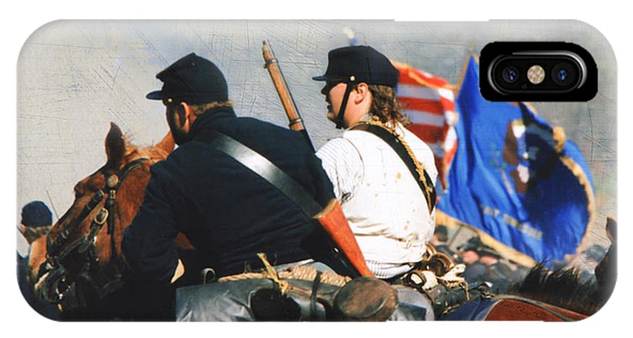 History IPhone X Case featuring the photograph Battle Of Franklin - 2 by Kae Cheatham
