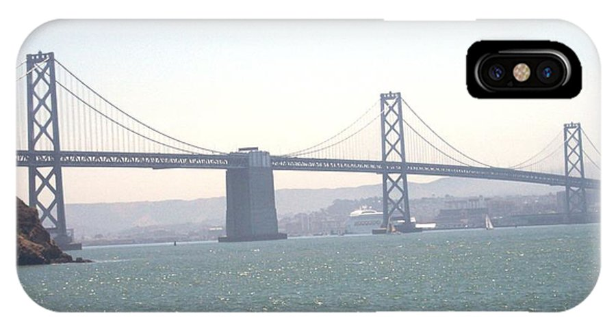 Bay Bridge IPhone X Case featuring the photograph Bay Bridge by Pharris Art