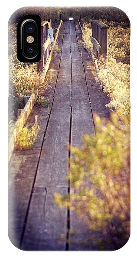 Baylands IPhone X Case featuring the photograph Bay Lands Walk by Kathleen Messmer