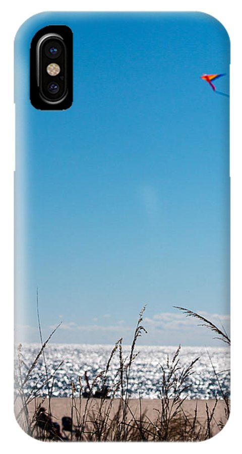 Kite IPhone X Case featuring the photograph Beach by Gaurav Singh