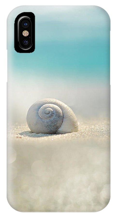 Beach IPhone X Case featuring the photograph Beach House by Laura Fasulo