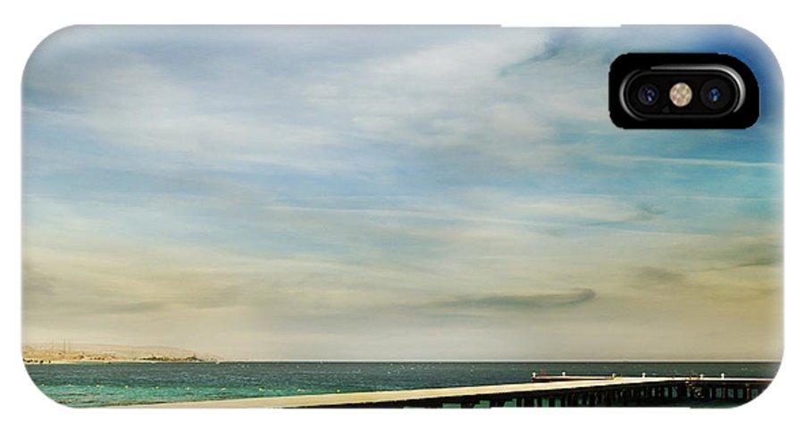 Beach IPhone X Case featuring the photograph Beach by Jelena Jovanovic