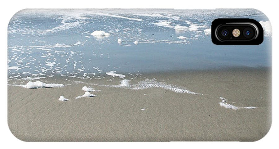 Ocean IPhone X Case featuring the photograph Beach Love by Linda Woods