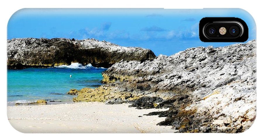 Bahamas IPhone X Case featuring the photograph Beach Time by Danyelle Glendenning