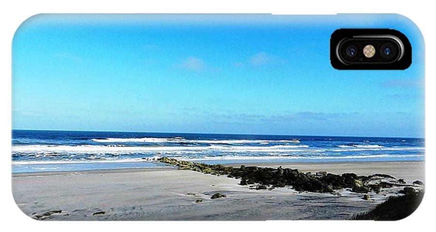 Beaches IPhone X Case featuring the photograph Beaches by Yvonne Aguero