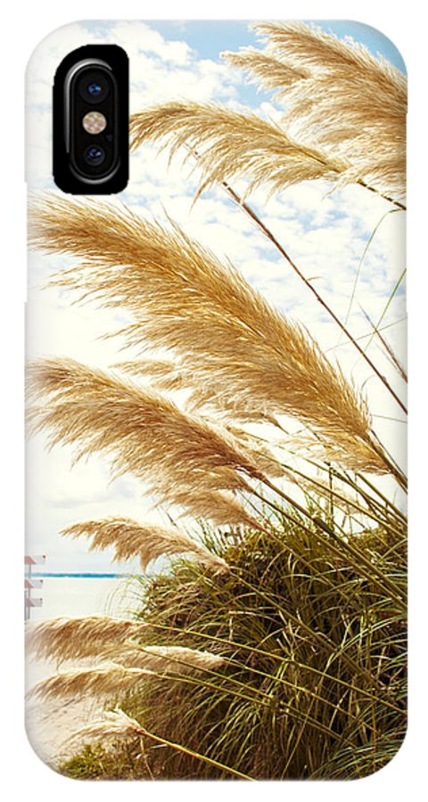 Beach IPhone X / XS Case featuring the photograph Beachy by Ashley Hall