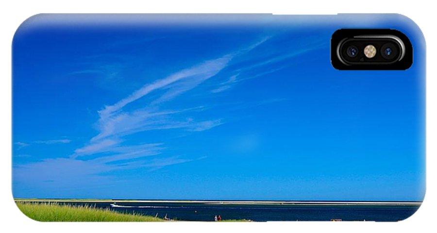 IPhone X Case featuring the photograph Beatiful Chatham Beach by Mithun Das