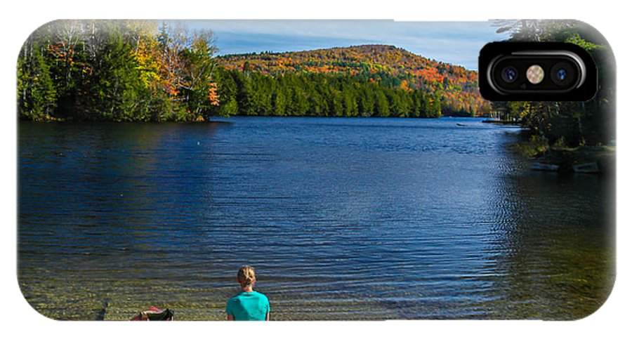 Fall IPhone X Case featuring the photograph Beautiful Day To Kayak by Vance Bell