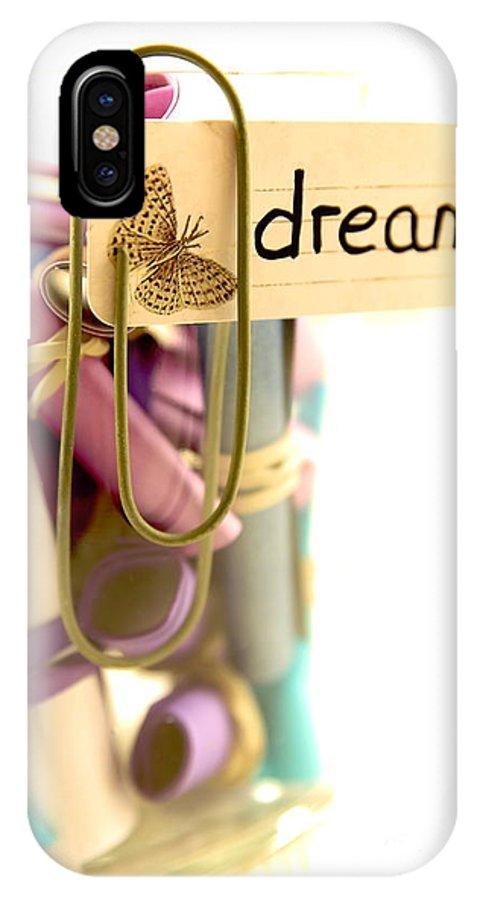 Dreams IPhone X / XS Case featuring the photograph Beautiful Dreams by Eva Ozkoidi