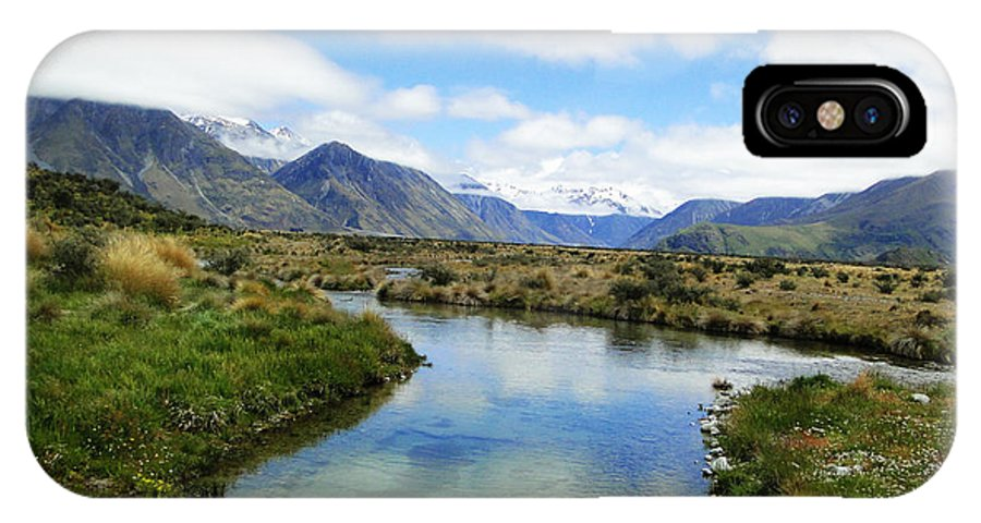 Nature IPhone X Case featuring the photograph Beautiful New Zealand by Ben Yassa