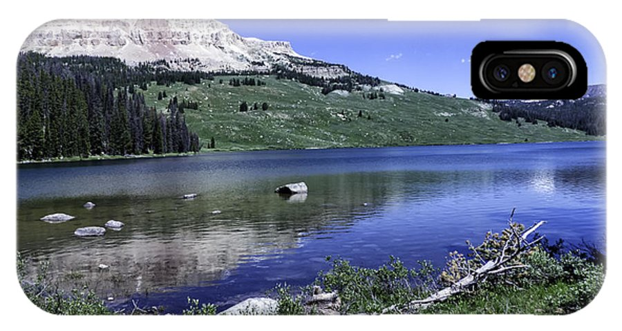 Beartooth Highway IPhone X Case featuring the photograph Beauty On The Beartooth by Carolyn Fox