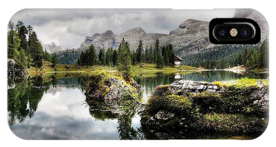 Lake IPhone X Case featuring the photograph Becco Di Mezzodi by Kordula Vahle