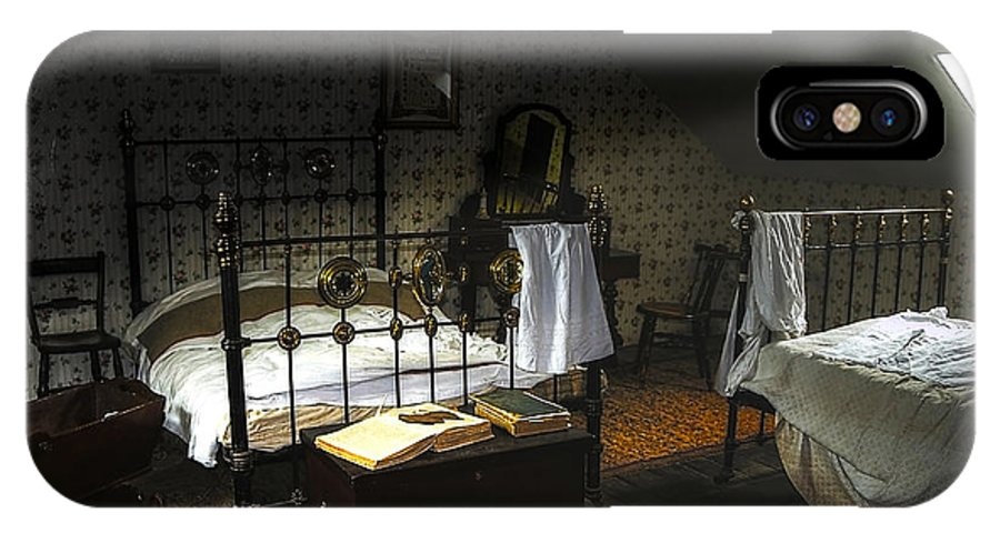 Beamish IPhone X Case featuring the photograph Bedroom by Svetlana Sewell