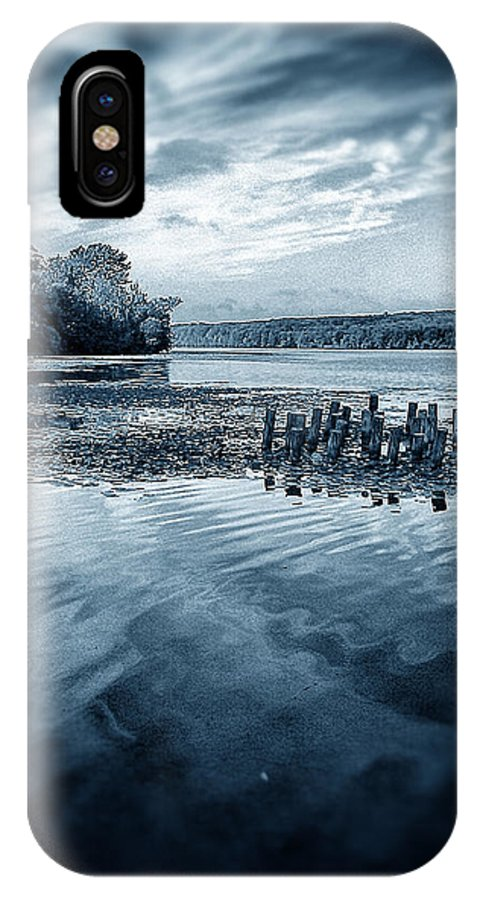 Lake Nockamixon IPhone X Case featuring the photograph Before The Storm by Tim Kravel
