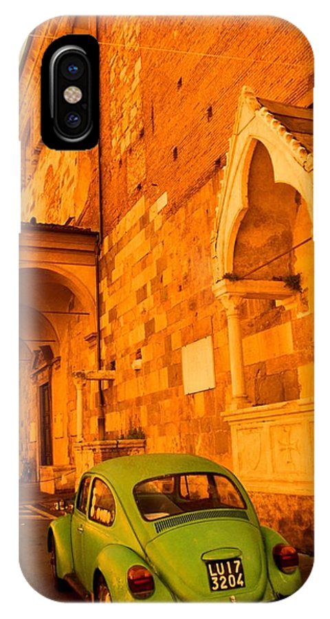 IPhone X Case featuring the painting Bellavitta by Alfredo Maffei