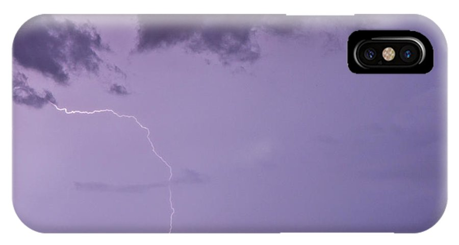 Lightning IPhone X Case featuring the photograph Belleair by Stephen Whalen