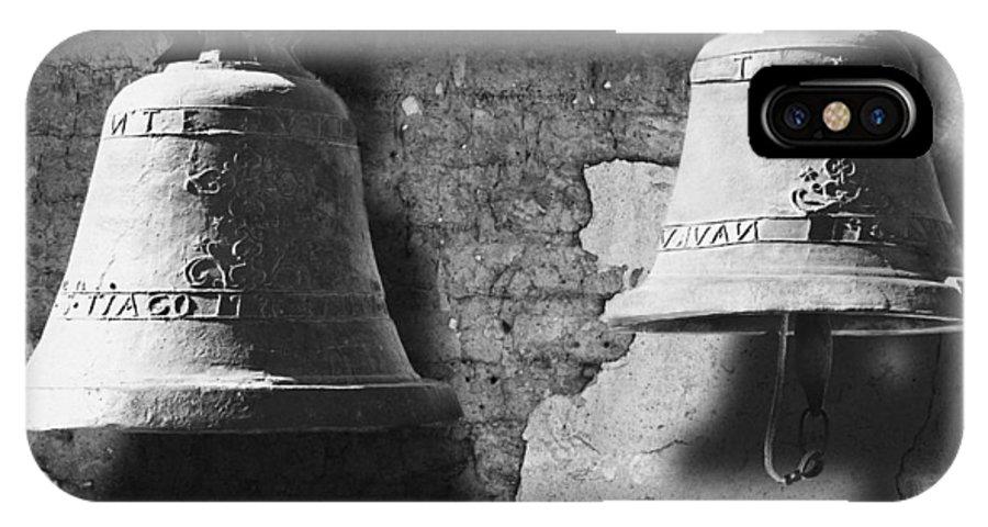 San Juan Capistrano IPhone X / XS Case featuring the photograph Bells Of San Juan Capistrano by Larry Butterworth