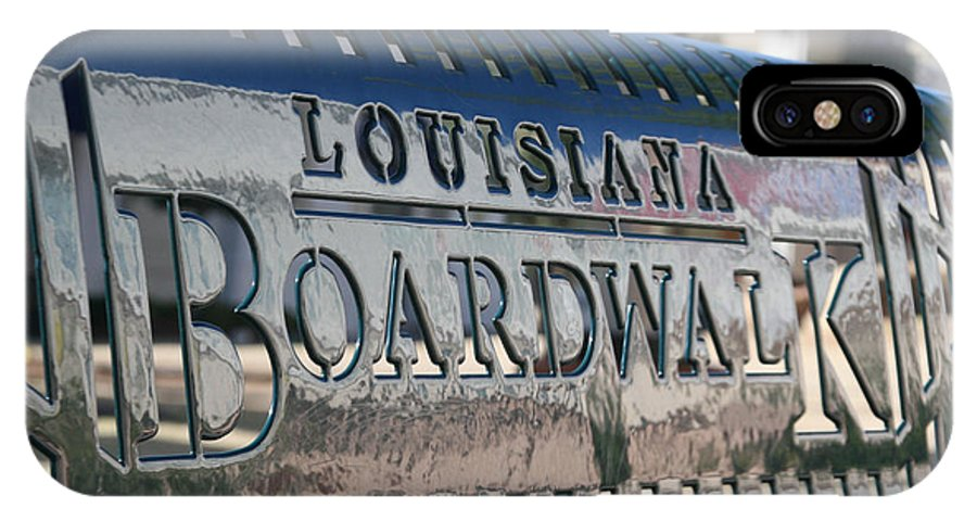 Louisiana Boardwalk IPhone X Case featuring the photograph Bench On The Boardwalk by D L Darden