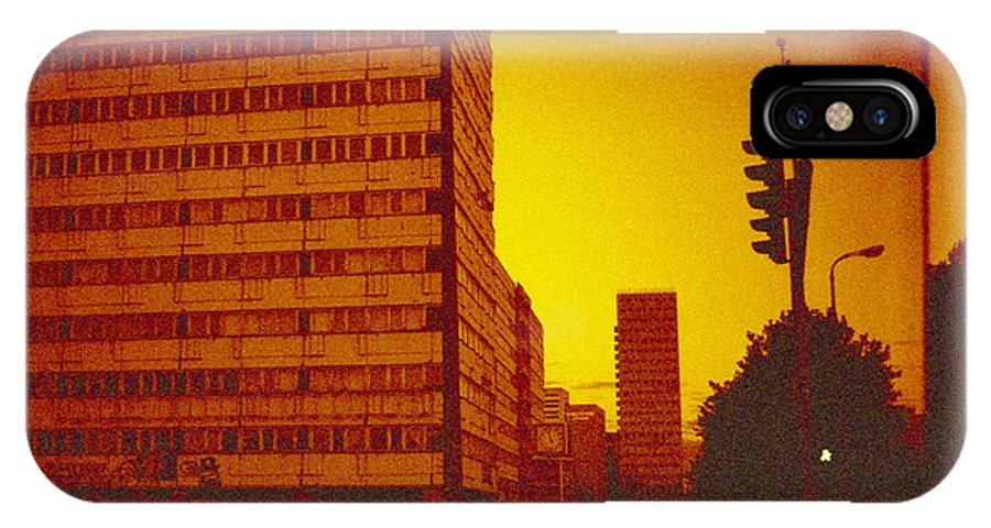 Photo IPhone X Case featuring the photograph Berlin Street Ddr by Juan Bosco