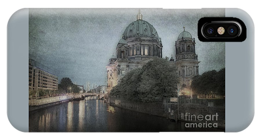 Berliner IPhone X Case featuring the photograph Berlin Cathedral by Julie Woodhouse