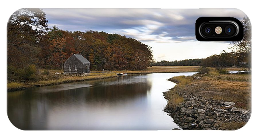 Berrys Brook IPhone X Case featuring the photograph Berrys Brook by Eric Gendron