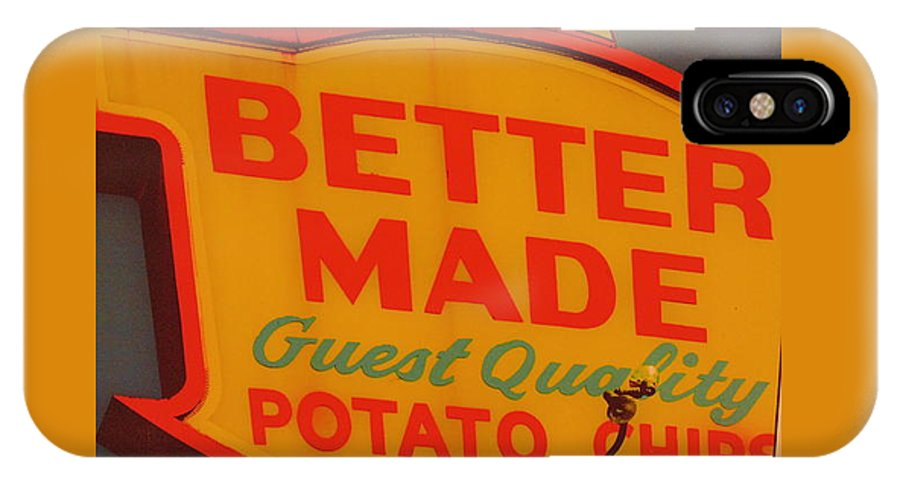 Better Made IPhone X / XS Case featuring the photograph Better Made by Dotti Hannum