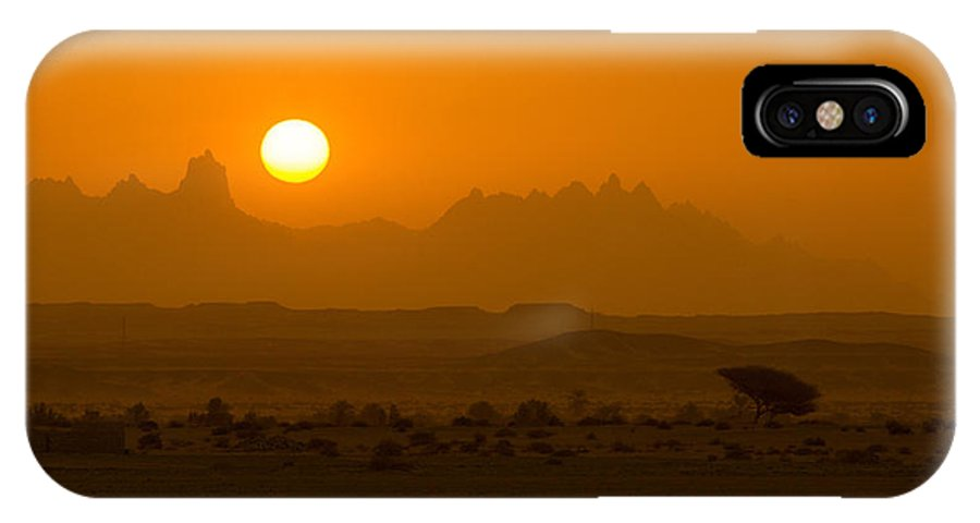 Wild IPhone X Case featuring the photograph Beyond The Morning Light by Ahmad Elsawy
