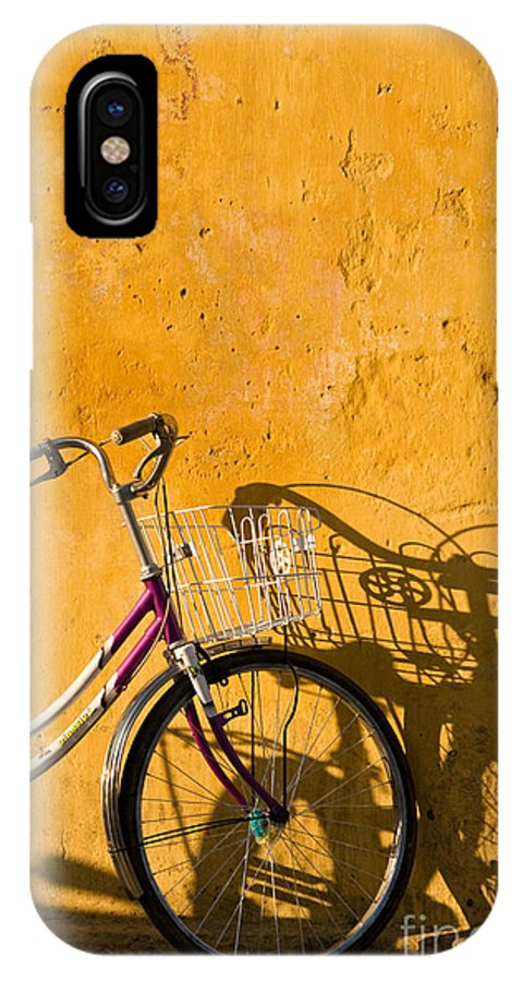 Vietnam IPhone X Case featuring the photograph Bicycle 07 by Rick Piper Photography