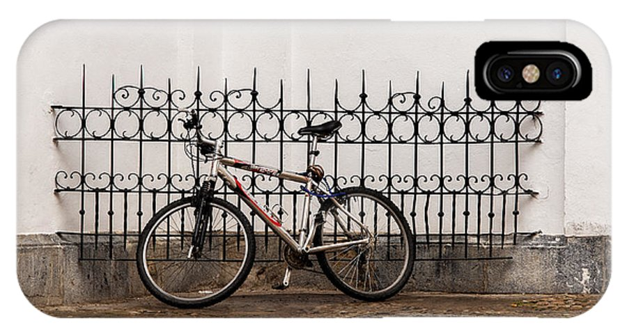 Bicycle IPhone X / XS Case featuring the photograph Bicycle by Roni Chastain
