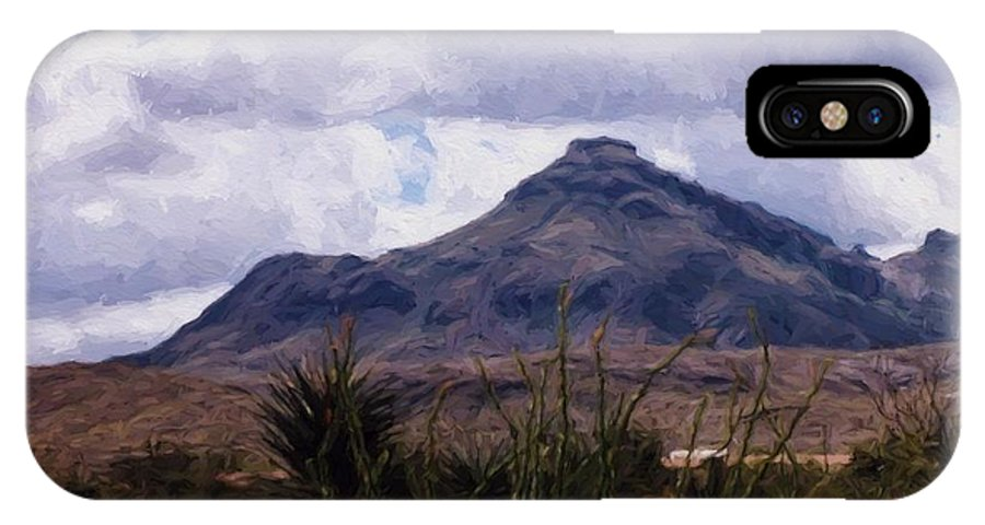 Mountains IPhone X Case featuring the photograph Big Bend National Park by Shannon Story