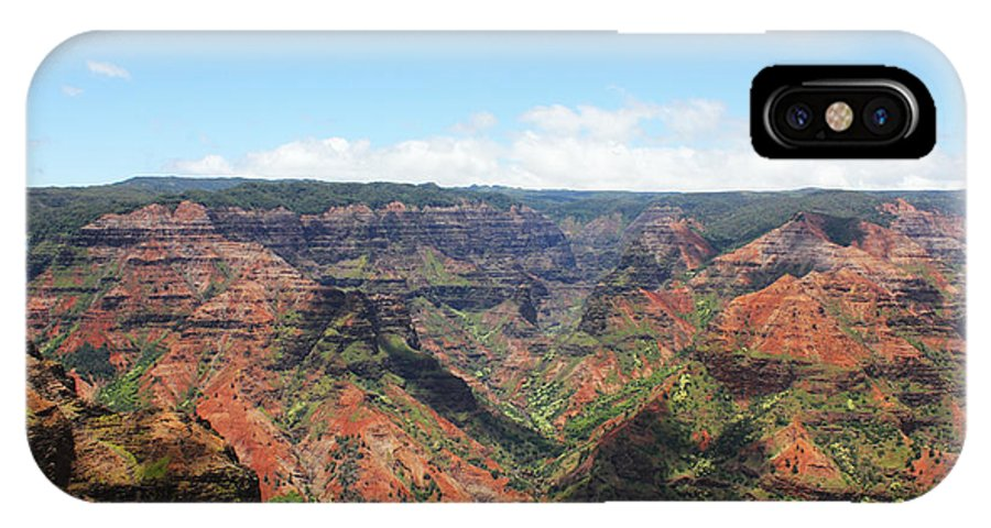 Waimea IPhone X Case featuring the photograph Big Canyon by Dianne Ambrose