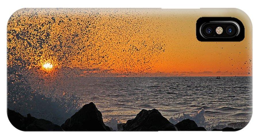 Big Island IPhone X Case featuring the photograph Big Island Hawaii Kona Sunset by Joseph Semary