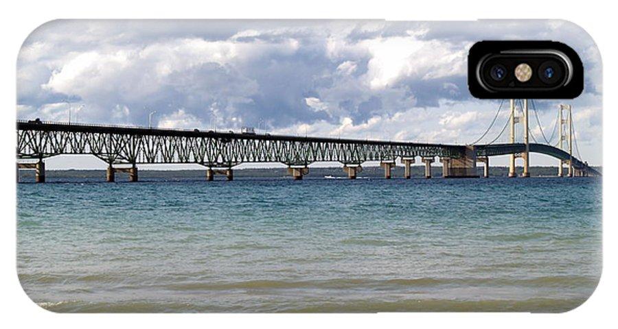 Bridge IPhone X Case featuring the photograph Big Mac by Melissa McDole