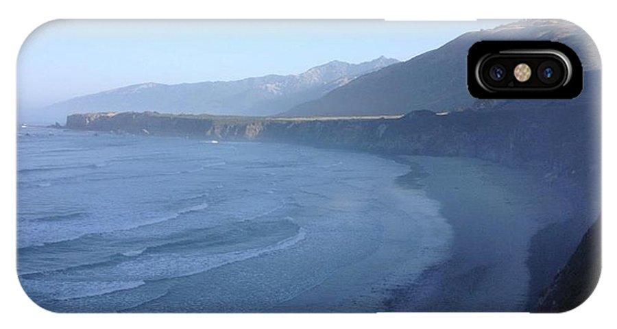 IPhone X Case featuring the photograph Big Sur Coastline by J Shawn Conrey