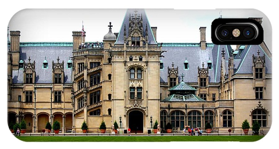 Biltmore Estate IPhone X Case featuring the photograph Biltmore Estate by Patti Whitten
