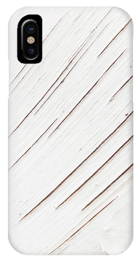 Monotone IPhone X Case featuring the photograph Birching by Steve Taylor