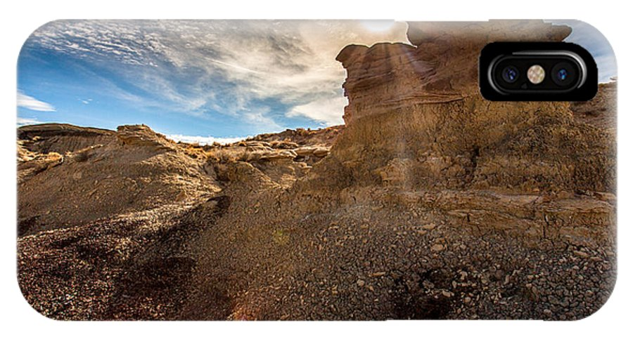 Bisti IPhone X Case featuring the photograph Bisti by Rusty Welch