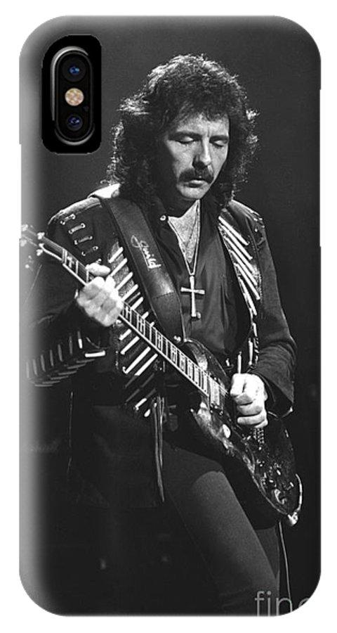 Black Sabbath IPhone X Case featuring the photograph Black Sabbath by Concert Photos